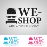 logo we shop with a french accent v32